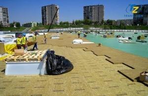 montaż termoizolacji na dachu