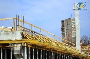 deskowanie budowa centrum handlowego gemini jasna park