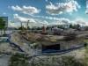 panorama terenu robieranego obiektu