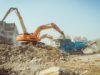 recykling gruzu na kruszywo betonowe i odzysk stali