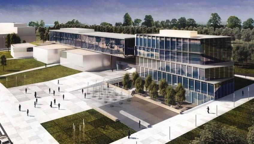 wizualizacja centrum biurowo-szkoleniowego comarch w Krakowie