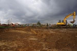 teren przygotowany pod inwestycję comarh kraków