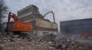 wyburzanie obiektów pod inwestycję enterprise Park