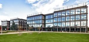 wizualizacja fasady Enterprise Park