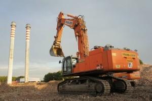zx-870 hitachi wyburzanie mechaniczne