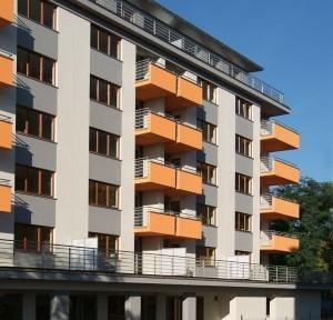 elewacja spółdzielni mieszkaniowej IDOL