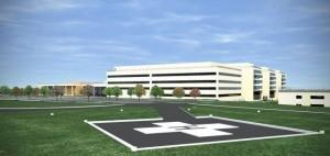 wizualizacja nowego szpitala CM UJ