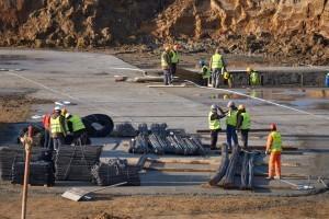 wylewanie warstwy chudego betonu